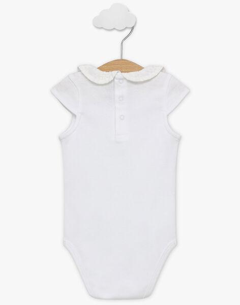 White Body suit TALOULOU / 20E1BFJ2BOD000