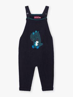 Baby boy blue dinosaur overalls BAJAMIE / 21H1BG91SAL715