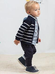 Baby Boy's Fancy Stripe Knit Vest BANELSON / 21H1BGL1GILC205