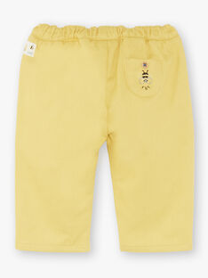 Yellow PANTS ZACLEMENT / 21E1BG91PANB114