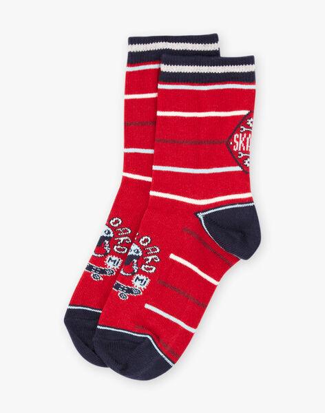 Baby Boy's Striped Skateboard Socks BAFOTAGE / 21H4PG11SOQ050