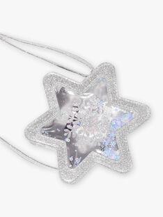 Child girl snow star shoulder bag BLAFLOETTE / 21H4PFO1BES956