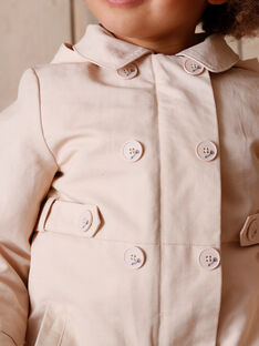 2 in 1 Pink trench coat effect ZOUPARKETTE / 21E2PFM1IMP808