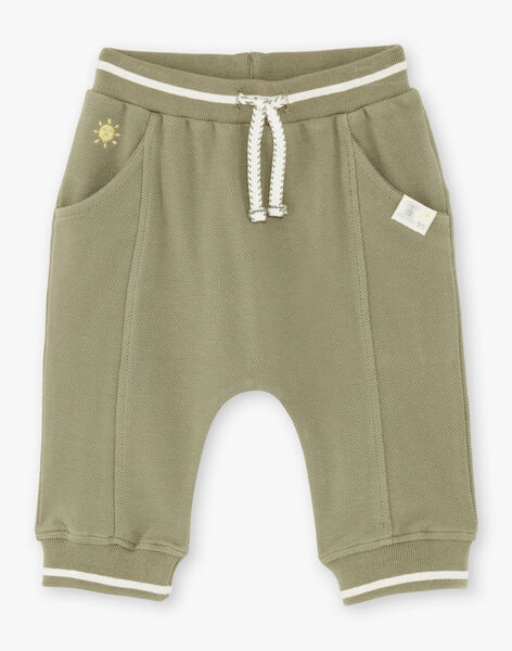 Baby boy khaki jogging suit ZAADAMO / 21E1BG71JGB604