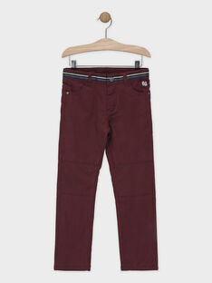 Red pants SIROUAGE / 19H3PGO1PANF511