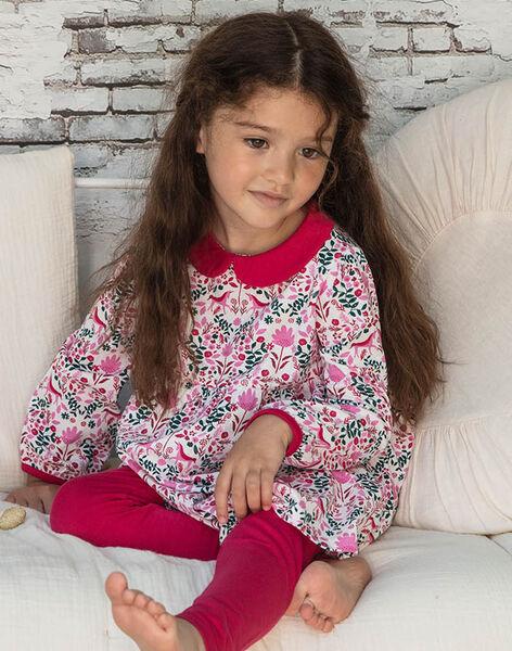 Long sleeved printed nightdress and leggings for baby girl BEBINETTE / 21H5PF62CHN001