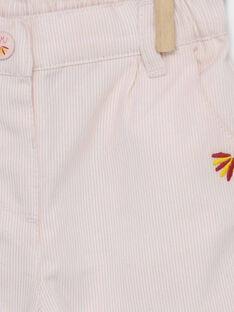 Pink pants RAFLORINE / 19E1BFC1PAND300