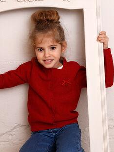 Cardigan child girl ZLADETTE3 / 21E2PFK3CAR719