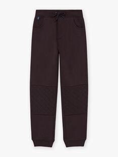 Boy's black jogging suit BUXTAGE / 21H3PGF1PAN090