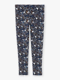 Navy LEGGINGS VOULEZETTE / 20H4PFY1CAL070