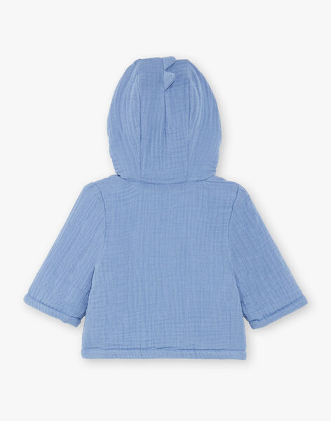 Baby boy blue hooded jacket ZOUHIR / 21E0CGG1VESC203