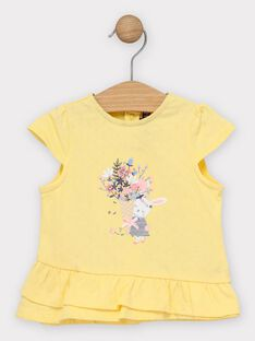 Pale yellow T-shirt TAORELIE / 20E1BFO1TMC103