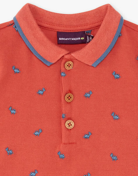 Baby boy polo shirt ZAEDOU / 21E1BGB1POL506