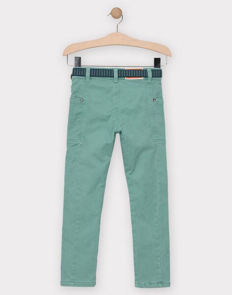 Green pants TACCIAGE / 20E3PGB2PANG624