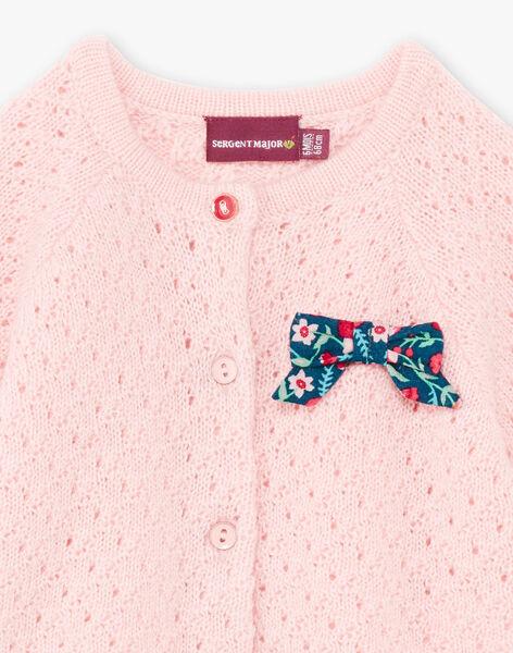 Pink vest baby girl BAGIANE / 21H1BF91CARD329
