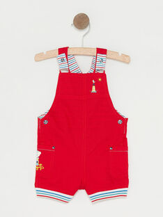 Red Short Overalls TAUGUST / 20E1BGW1SAC050