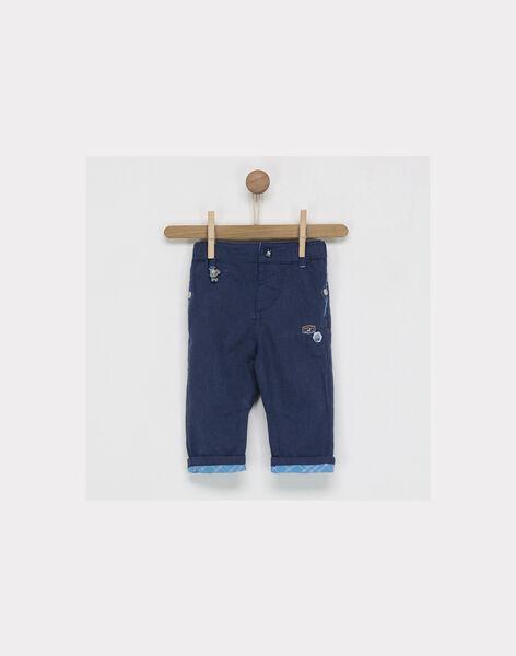 Navy pants NAPOLIDOR / 18E1BGJ1PAN713