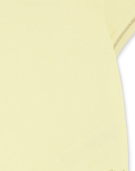 Golden yellow T-SHIRT ZLINETTE 3 / 21E2PFK3TMC106