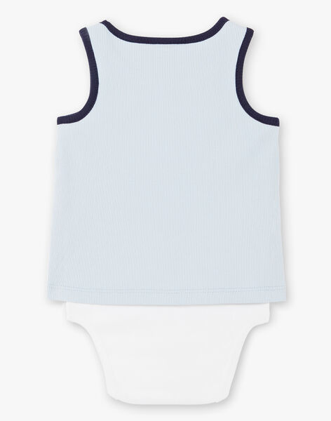 Body light blue and white baby boy ZAOLSEN / 21E1BGT1BOD213