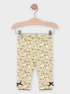 Pale yellow Leggings TAOLANA / 20E4BFO1CAL103