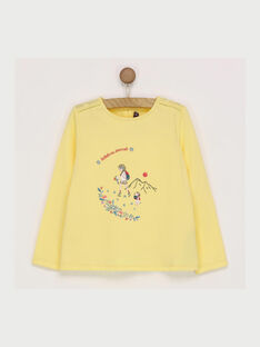 Yellow T-shirt RADUFETTE / 19E2PF61TMLB105