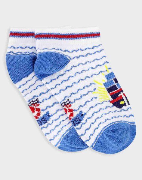 Blue Low socks TOCHAUSSAGE / 20E4PGW1SOB201