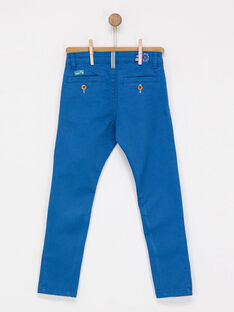 Medium blue pants NAJULAGE / 18E3PG71PAN208