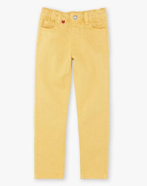 Yellow pants boy child ZAZITAGE3 / 21E3PGK4PAN010