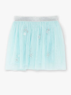 Turquoise SKIRT VEUJUETTE / 20H2PFW1JUP202