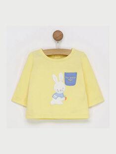 Yellow T-shirt RYABDEL / 19E0CG11TML010
