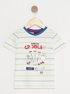 Off white T-shirt TYALAGE / 20E3PG11TMC001