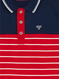 Child boy polo shirt ZAZPLAGE3 / 21E3PGK2POL070