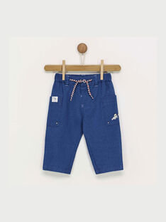 Blue denim pants RANINO / 19E1BGE1PAN704