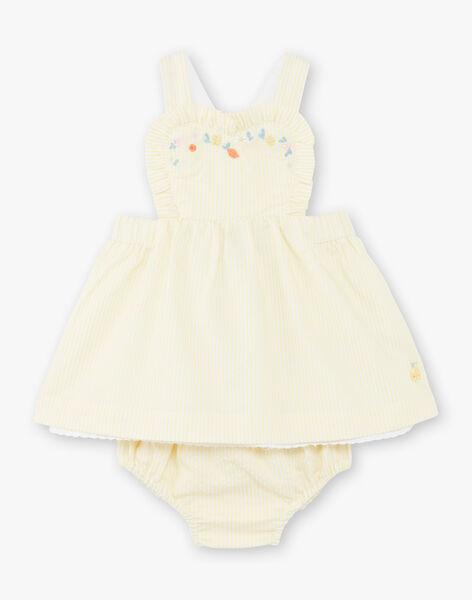 Yellow CHASUBLE DRESS ZANAELLE / 21E1BFO1CHSB104