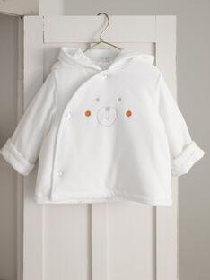 Velvet hooded jacket mixed birth BOCAMILLE / 21H0CM41VES001