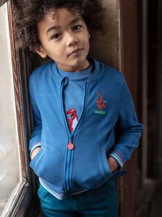 Teddy blue dragon embroidery ZADOUNAGE / 21E3PGJ1GILC206