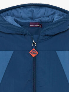 Hooded jacket colorblock ZAZIMAGE / 21E3PGM1BLOC212