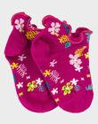 Pink Low socks ROYDIDETTE / 19E4PFQ1SOBD302
