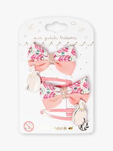 Pink HAIR CLIP ZAOETTE / 21E4PF86BRTD324