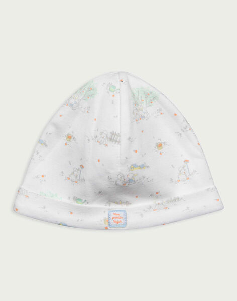 Off white Newborn cap RYAUGUSTE / 19E0AG11BNA001