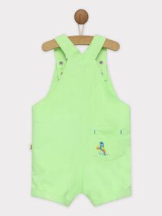 Lemon yellow Short Overalls RAWAEL / 19E1BGQ1SAC108