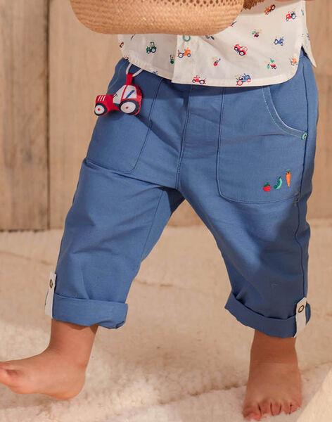 Blue PANTS ZAKAMIL / 21E1BGJ1PANC206