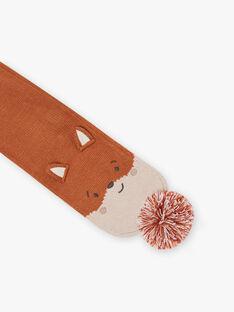 Baby Boy Fox Pom Pom Scarf BIOTIS / 21H4BGD1ECH809