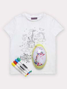 White T-shirt TUTUETTE 2 / 20E2PFU1TCT000