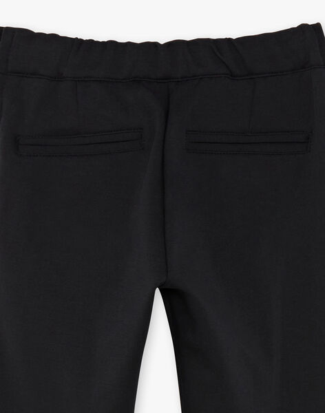 Black pants child girl ZEPATETTE 1 / 21E2PF91PAN090