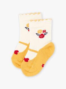 Baby girl baby and flower socks BAELAYA / 21H4BF51SOQ001