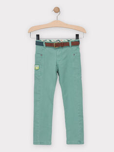 Green pants TACCIAGE / 20E3PGB2PANG624