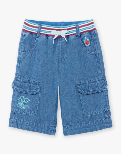 Bermuda denim shorts with pockets ZABILAGE / 21E3PGJ2BER721