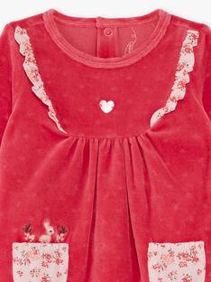 Baby girl's franmboise sleep suit BEBINA / 21H5BF62GRED325