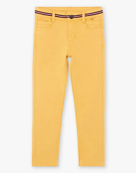 Baby boy yellow pants BEFOAGE / 21H3PG54PANB114